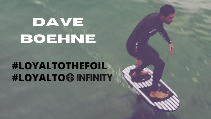 Dave Boehne on Foiling or How Infinity is Slowly but Surely making its mark in the Foil Market