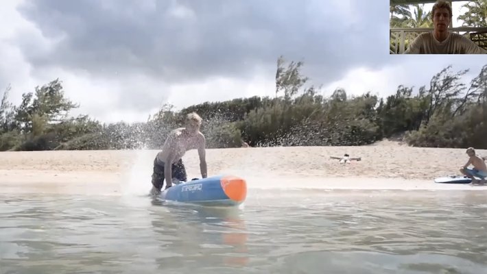 SUP Race Technique: Improve your Beach Start with Connor Baxter