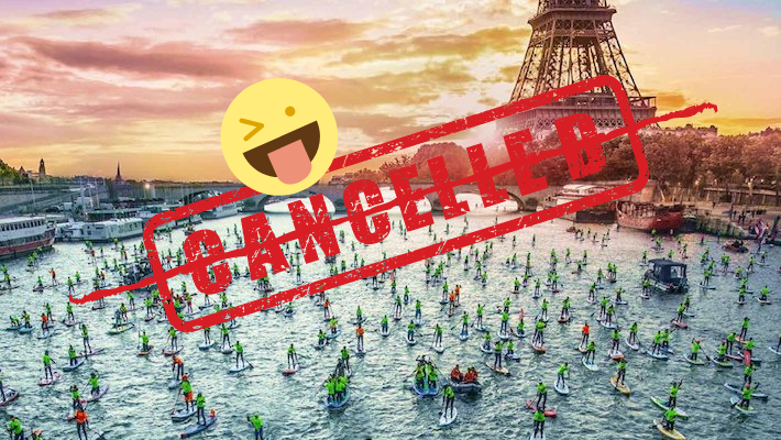 We Have Cancelled the Cancellation of the Nautic Paddle – World Mass Paddle Tomorrow !