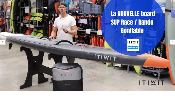 Itiwit dévoile son nouveau SUP de race et de randonnée gonflable