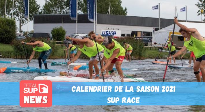 Le calendrier de la saison fédérale de SUP Race 2021