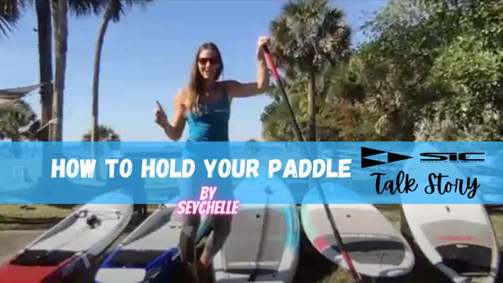 How to hold your paddle – Live clinic with Seychelle