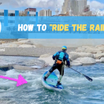 "How to ""ride the rails"" on a river?"