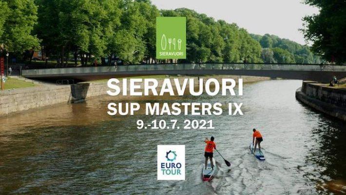 IX Sieravuori SUP Masters 2021
