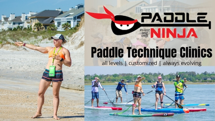 Paddle Ninja's Paddle Technique Clinic with April Zilg