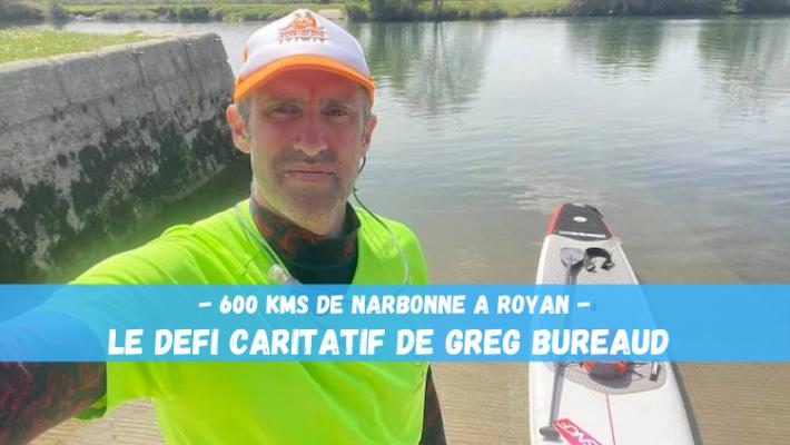 Greg Bureaud se lance un défi: le MedAtlan, 600 kms de la Med à l'Atlantique contre le cancer