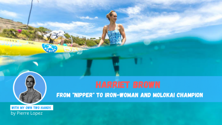 """Harriet Brown, from """"nipper"""" to Ironwoman and Molokai champion"""