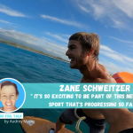 Zane Schweitzer on Pro Foil Talk by Audrey Meyer