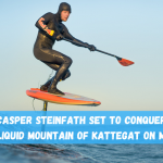Casper Steinfath's Kattegat SUP FOIL Viking Crossing 3.0 is ON !