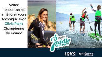 Training pour le Loire Paddle Trophy avec Olivia Piana