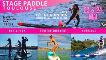Stage de Paddle avec Céline Guesdon