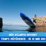 Défi Atlantis ODYSSEY: il faudra battre les 1h 41min 08s de Joseph Gueguen