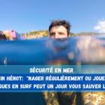 Etre à l'aise dans l'eau, la base de la sécurité en mer