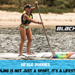 SUP stoke continues for the Blackfish Team Rider Ke'ale Dorries