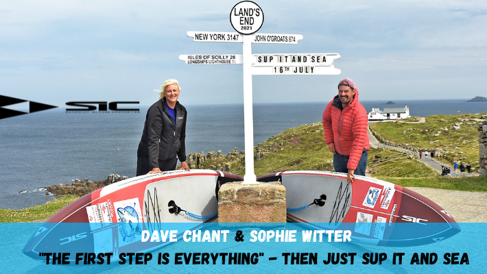 Serendipity, lost SIC Maui boards & true acts of kindness: Meet the first duo paddleboarding the length of Britain
