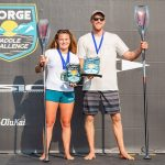 Fiona Wylde and Connor Baxter Unbeatable at the SIC Columbia Gorge Paddle Challenge