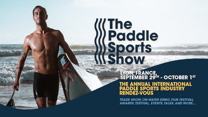 """Philippe Doux: """"The Paddle Sports Show is for industry players to meet again after two years!"""""""