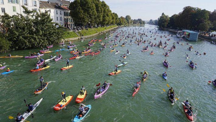 650 participants à la Kayak Paddle Marne, 7000 participants au Tokyo-Vaires-Paris